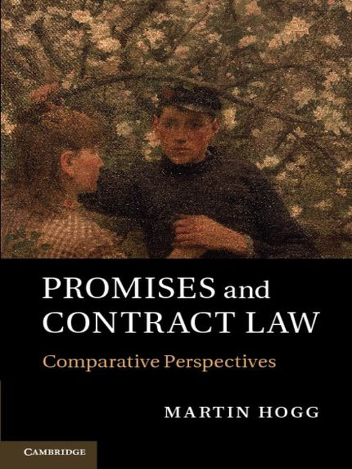 Promises and Contract Law (eBook): Comparative Perspectives
