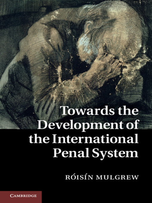 Towards the Development of the International Penal System (eBook)