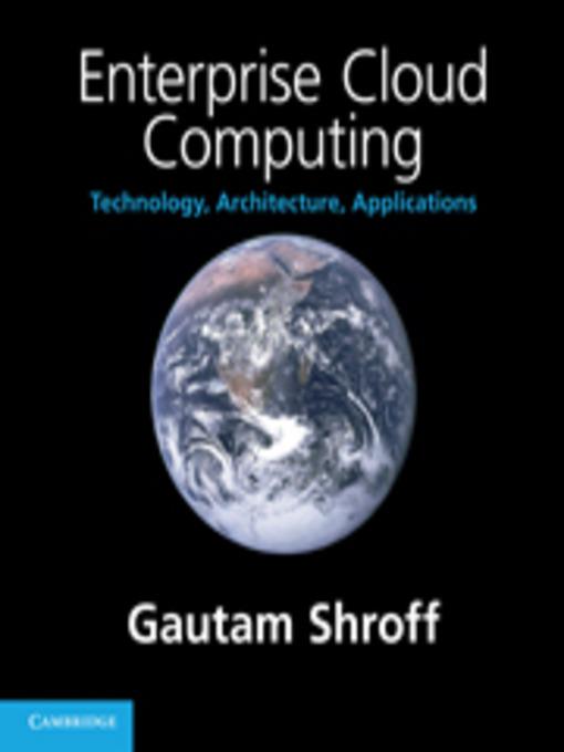 Enterprise Cloud Computing (eBook)