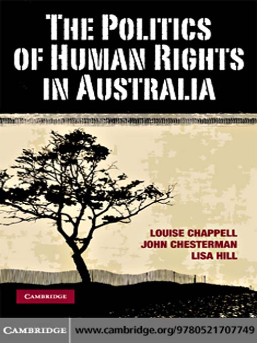 The Politics of Human Rights in Australia (eBook)