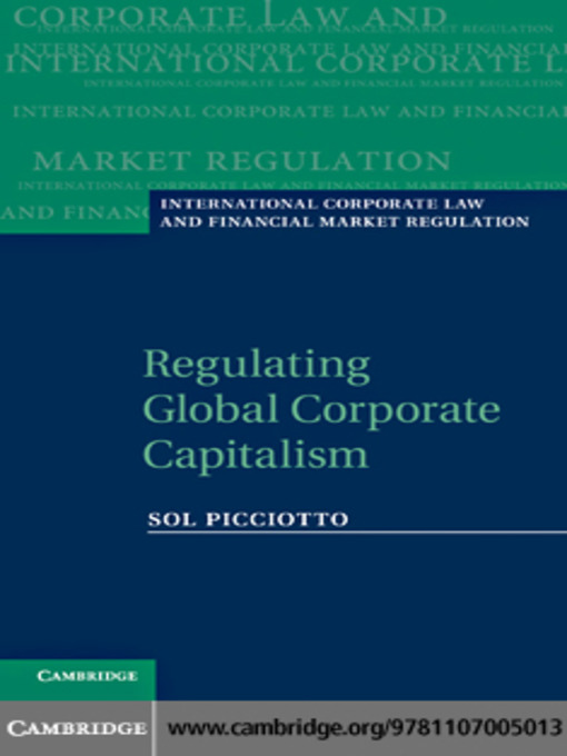 Regulating Global Corporate Capitalism (eBook)