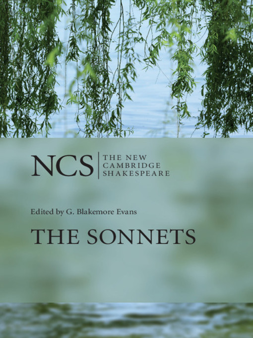 The Sonnets (eBook)