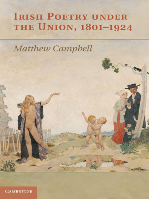 Irish Poetry under the Union, 1801-1924 (eBook)