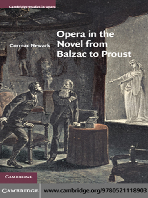 Opera in the Novel from Balzac to Proust (eBook)