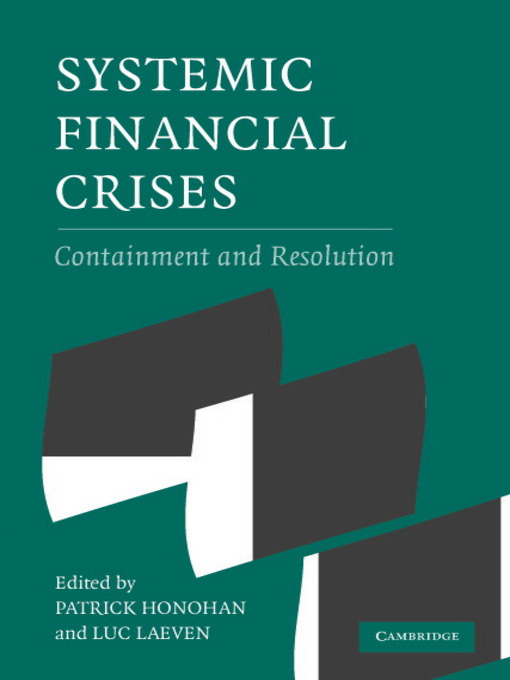 Systemic Financial Crises (eBook)