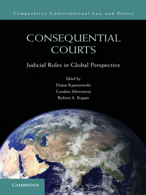 Consequential Courts - Comparative Constitutional Law and Policy (eBook)