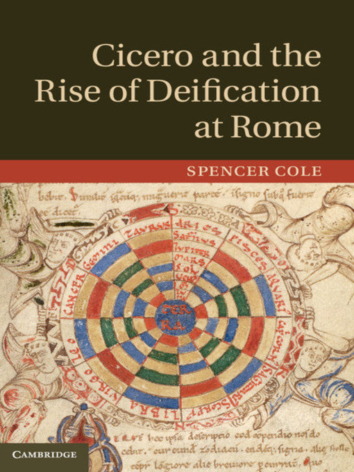 Cicero and the Rise of Deification at Rome (eBook)