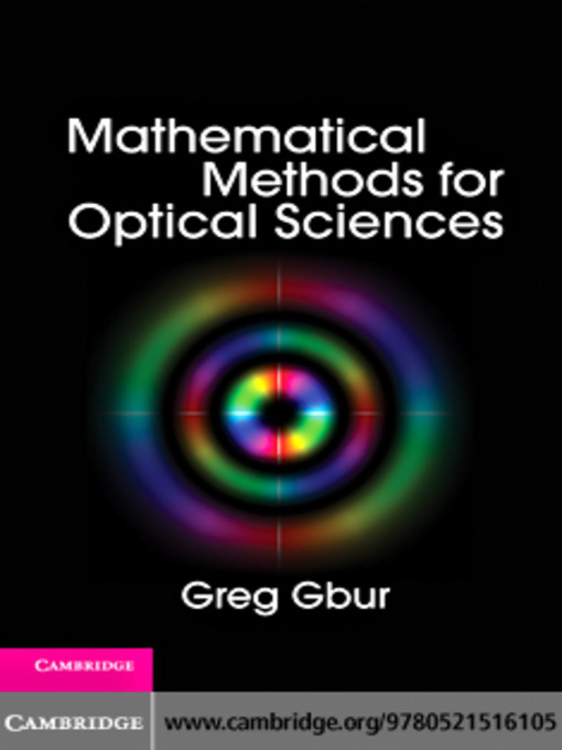 Mathematical Methods for Optical Physics and Engineering (eBook)