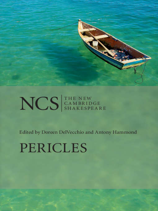 Pericles, Prince of Tyre (eBook)