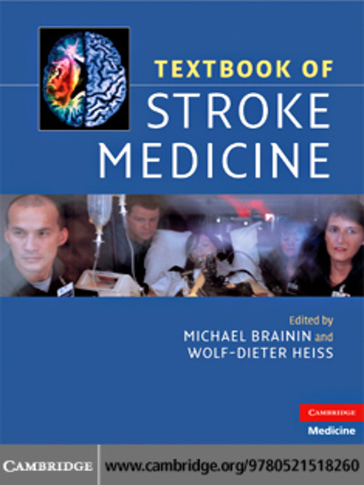 Textbook of Stroke Medicine (eBook)