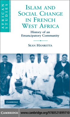 Islam and Social Change in French West Africa (eBook): History of an Emancipatory Community