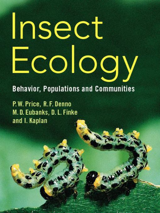 Insect Ecology (eBook): Behavior, Populations and Communities