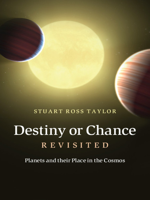 Destiny or Chance Revisited (eBook)