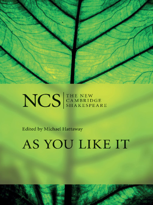 As You Like It - New Cambridge Shakespeare (eBook)