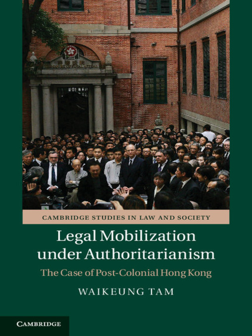 Legal Mobilization under Authoritarianism (eBook)