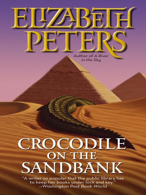 Cover Image of Crocodile on the sandbank