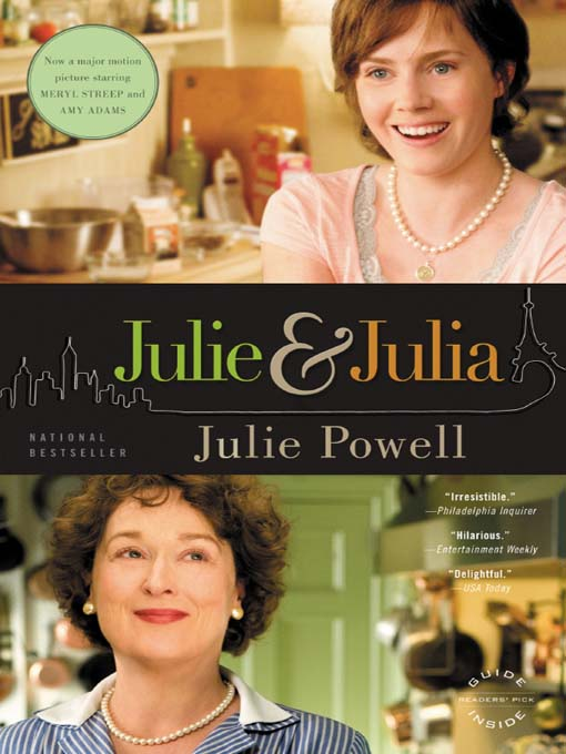 Cover image for Julie and Julia
