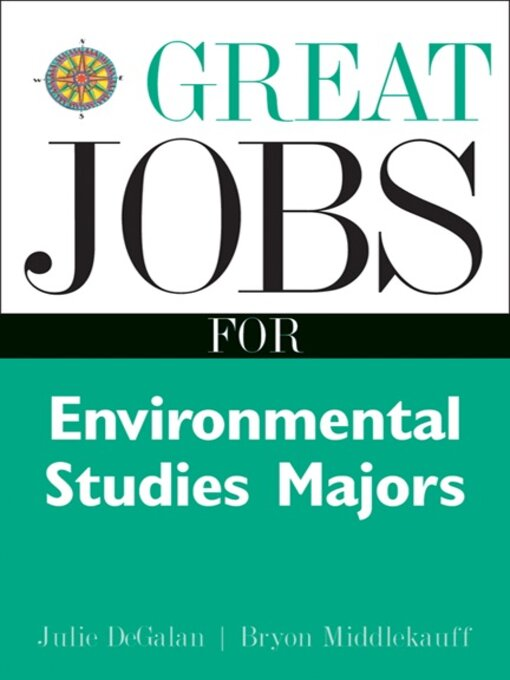 Cover image for Great Jobs for Environmental Studies Majors