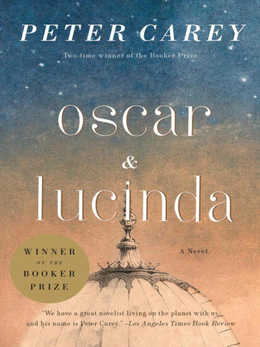 Oscar and Lucinda Movie Tie-In Edition