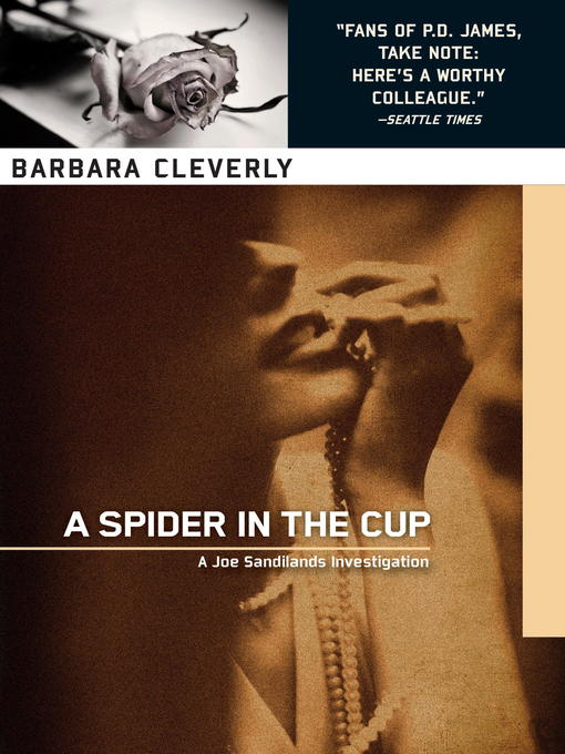 A Spider in the Cup (eBook): Detective Joe Sandilands Series, Book 11