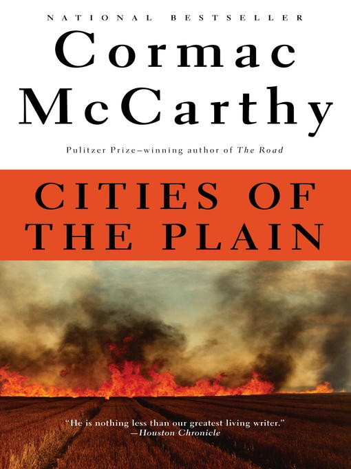 Cover image for Cities of the Plain