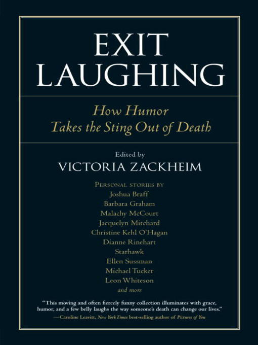 Exit Laughing (eBook): How Humor Takes the Sting Out of Death