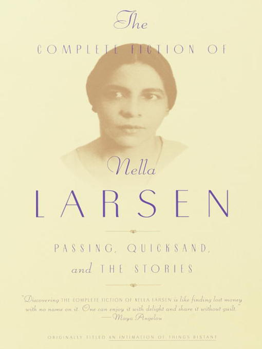 cover of The Complete Fiction of Nella Larsen