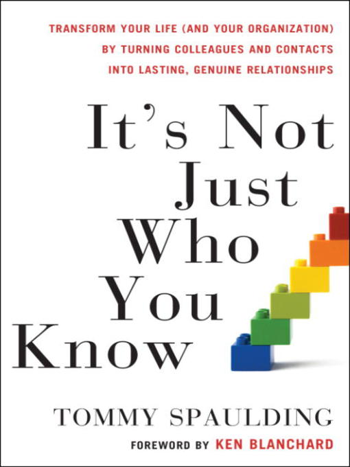 Cover image for It's Not Just Who You Know