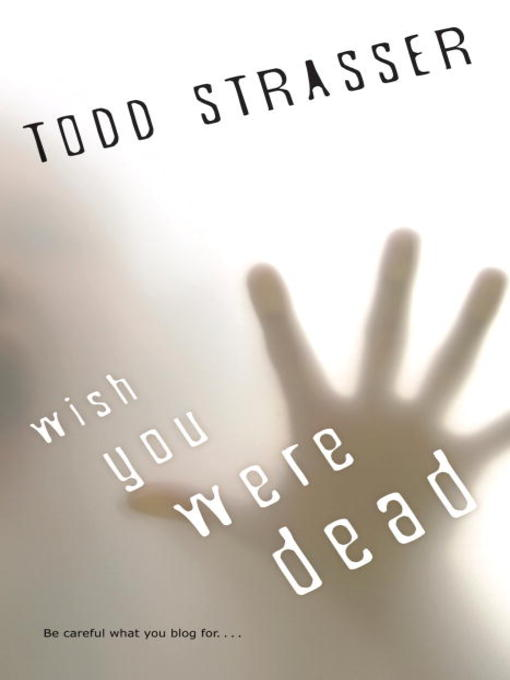 wish you were dead bookjacket