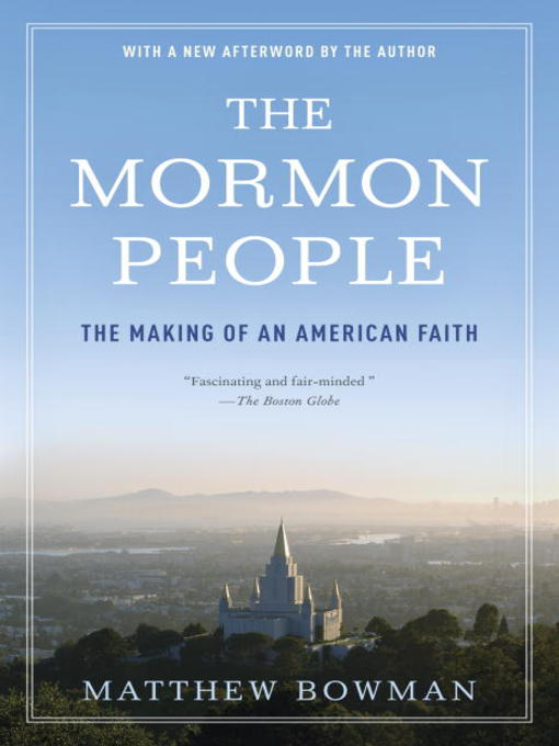 Cover image for The Mormon People
