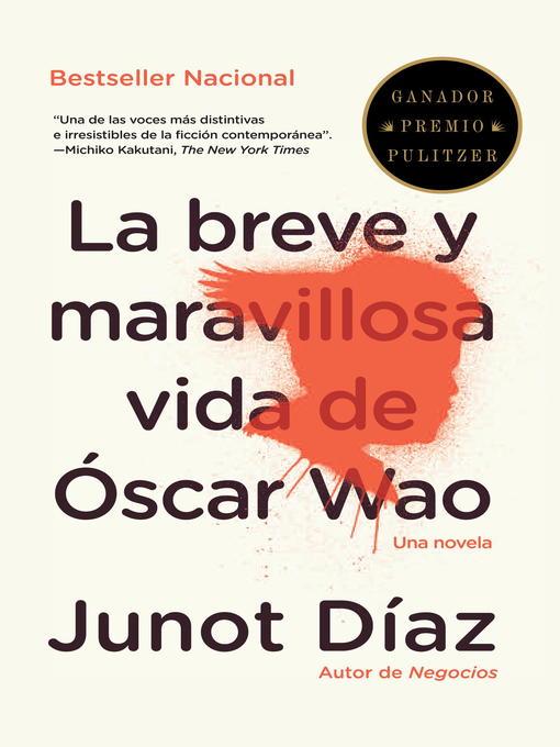 La Breve y Maravillosa vida de Óscar Wao book cover