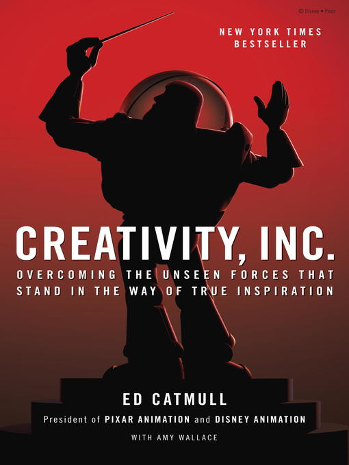 Click this cover for a(n) eBook sample of Creativity, Inc.