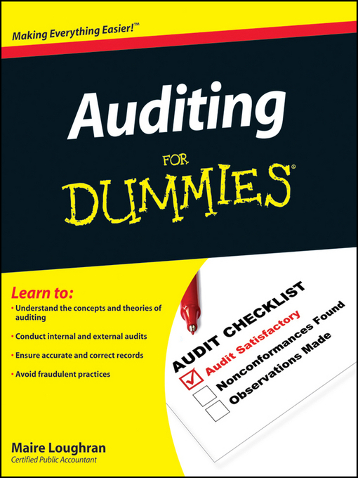 Auditing For Dummies (eBook)