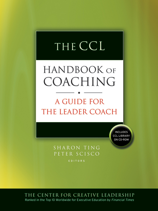 The CCL Handbook of Coaching (eBook): A Guide for the Leader Coach