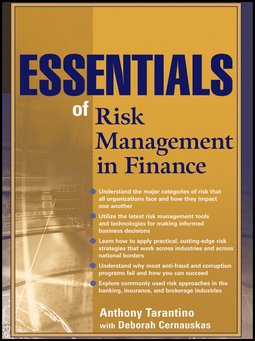 Essentials of Risk Management in Finance (eBook)