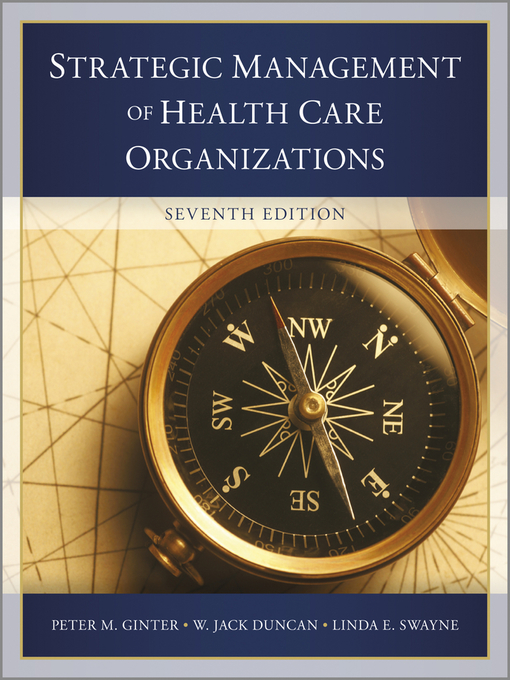 The Strategic Management of Health Care Organizations (eBook)