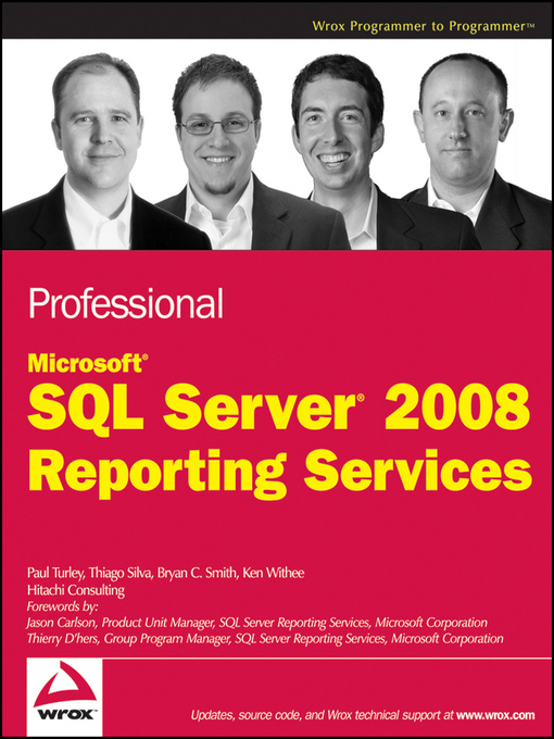 Professional Microsoft SQL Server 2008 Reporting Services (eBook)