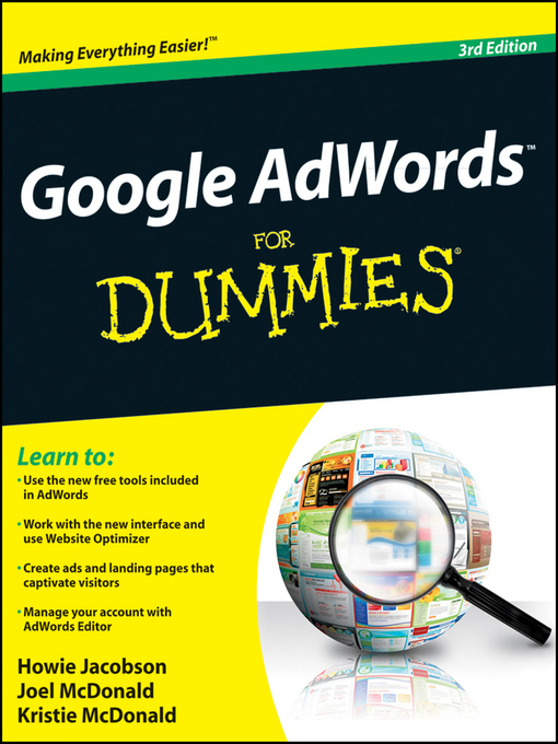 Google AdWords For Dummies (eBook)