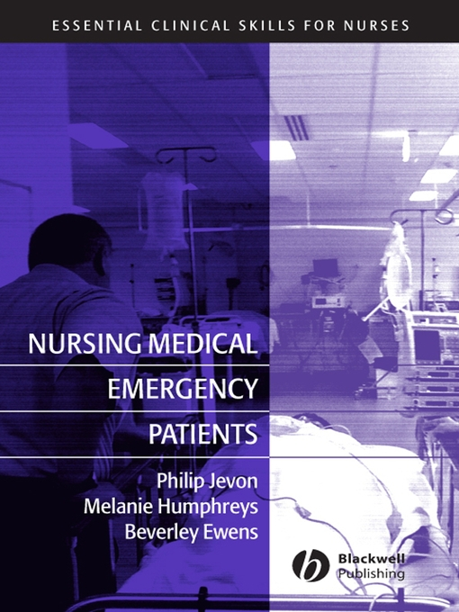 Nursing Medical Emergency Patients (eBook)