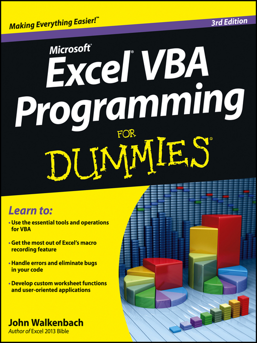Excel VBA Programming For Dummies (eBook)