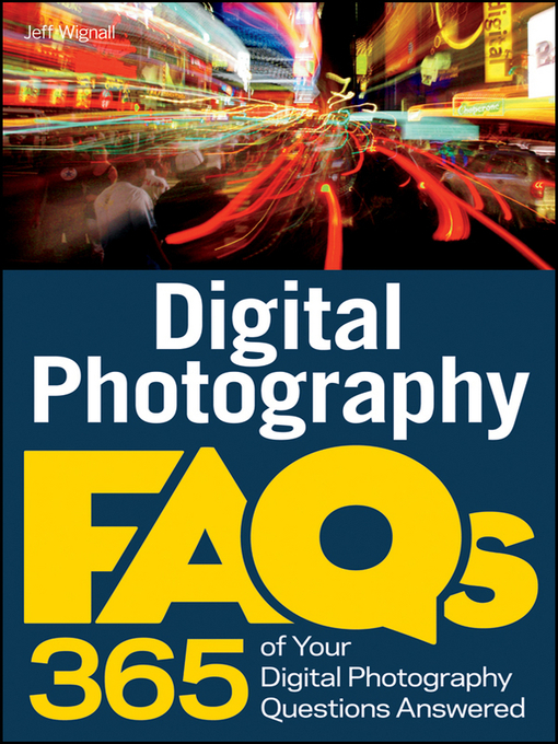 Cover image for Digital Photography FAQs