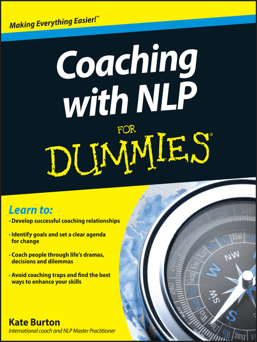 Coaching With NLP For Dummies - Dummies (eBook)