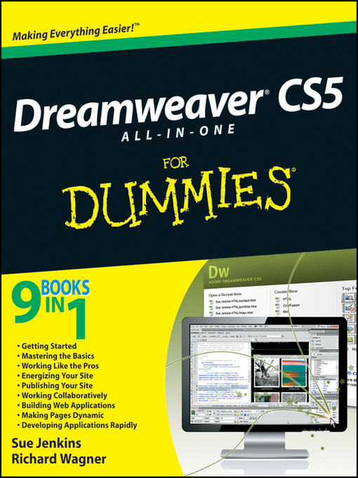 Dreamweaver CS5 All-in-One For Dummies (eBook)