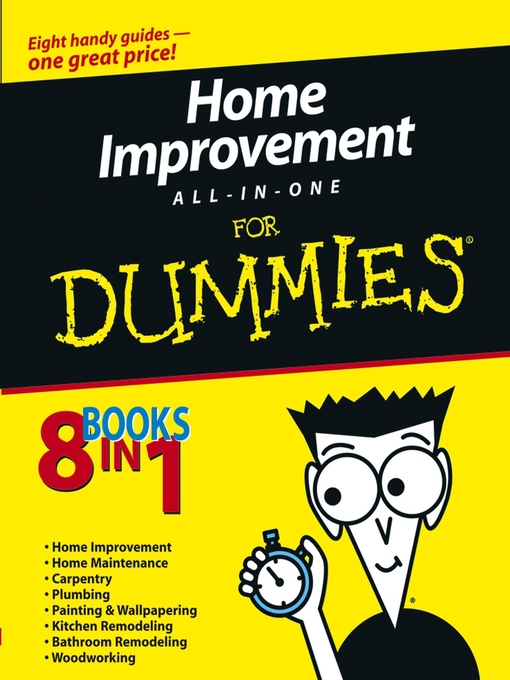 Home Improvement All-in-One For Dummies (eBook)