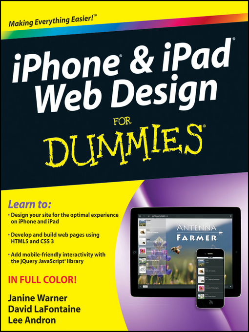 iPhone & iPad Web Design For Dummies (eBook)