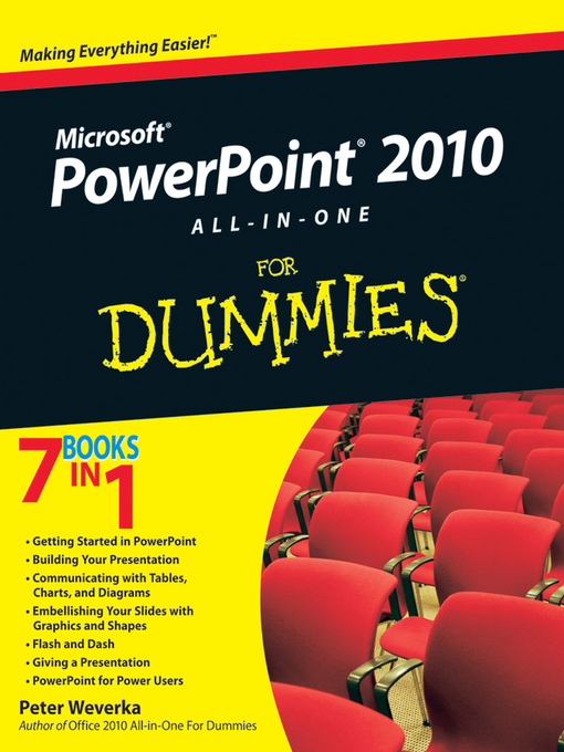PowerPoint 2010 All-in-One For Dummies (eBook)