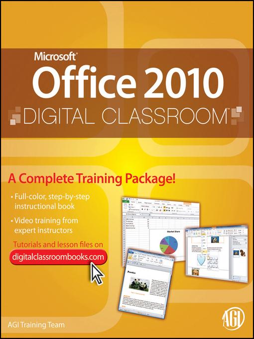 Microsoft Office 2010 Digital Classroom (eBook)