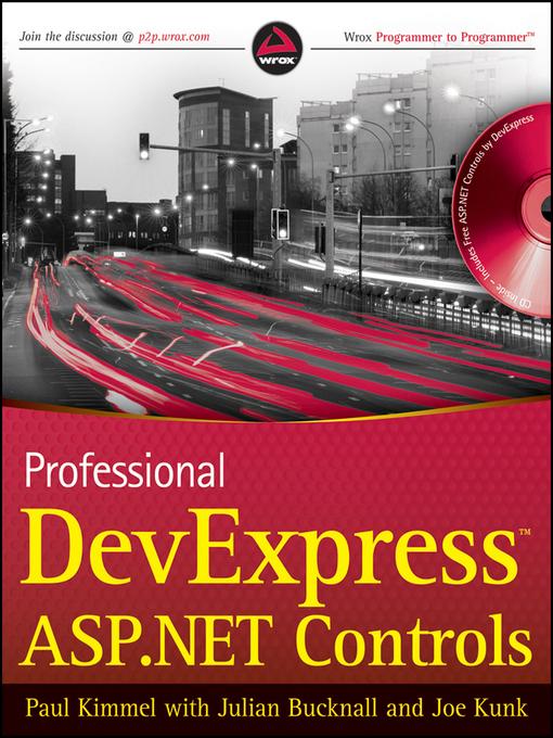 Professional DevExpress ASP.NET Controls (eBook)