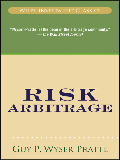Risk Arbitrage (eBook)
