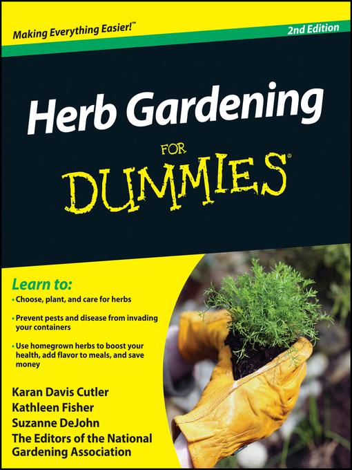 Herb Gardening For Dummies - Dummies (eBook)